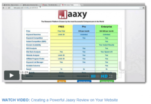 The Jaaxy Program